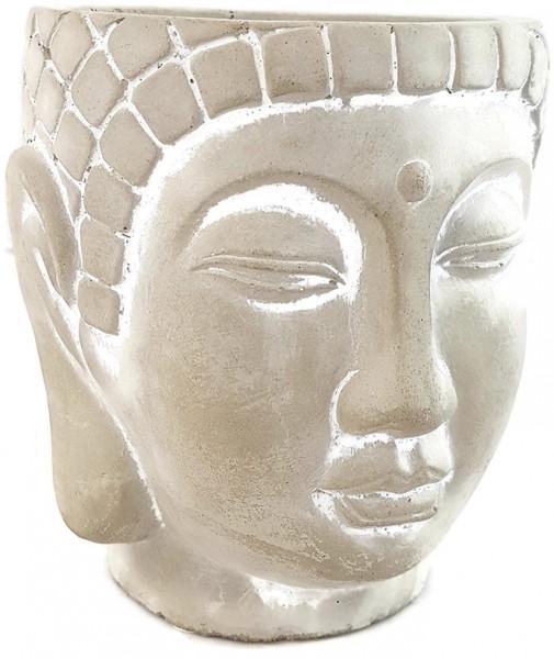 Übertopf - innere Ruhe - Buddha